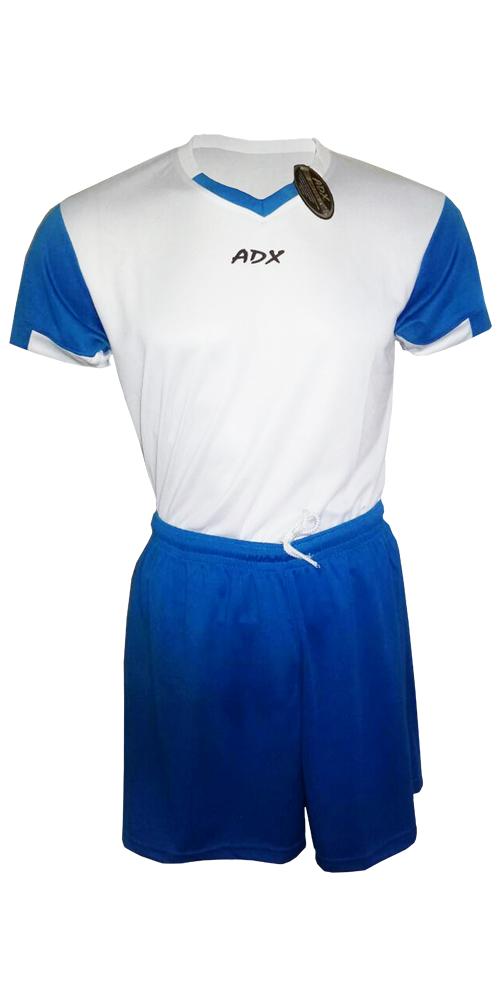 Uniforme ADX Duo fútbol Blanco Azul Rey – ADX 48feaaf3e0034