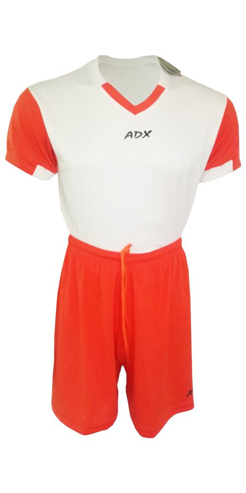 Uniforme ADX Duo fútbol Blanco/Naranja – ADX